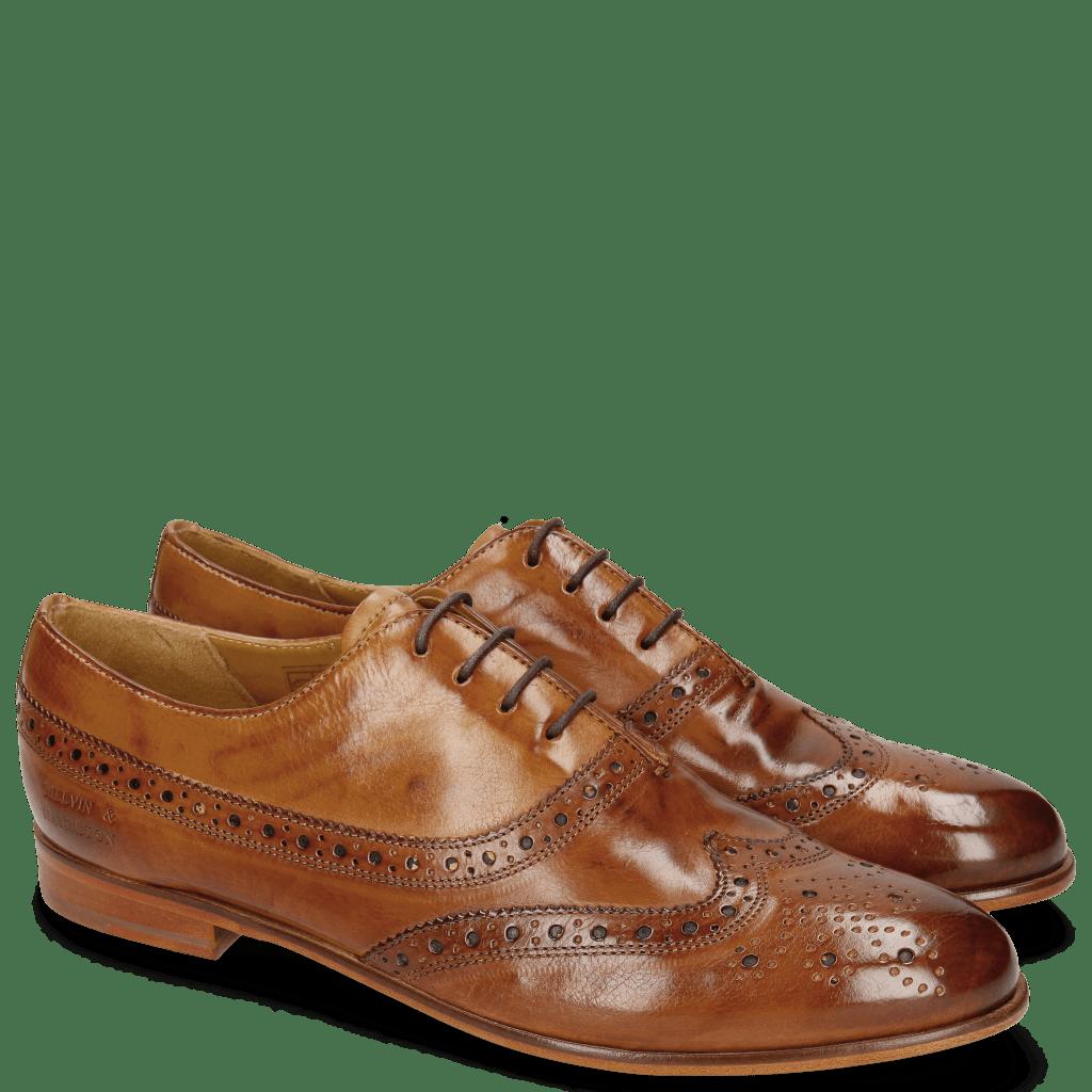 Oxford shoes Selina 8 Tan