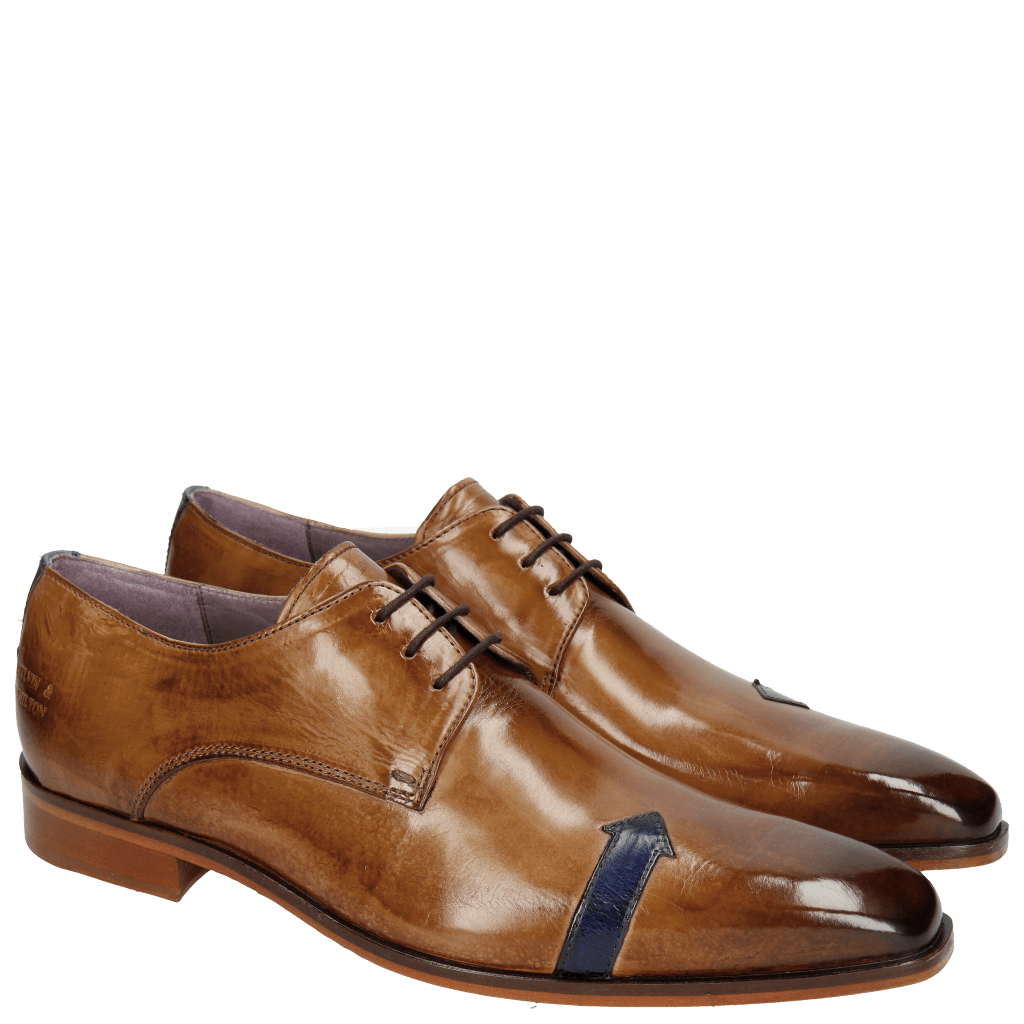 Derby shoes Lance 17 Tortora Electric Blue