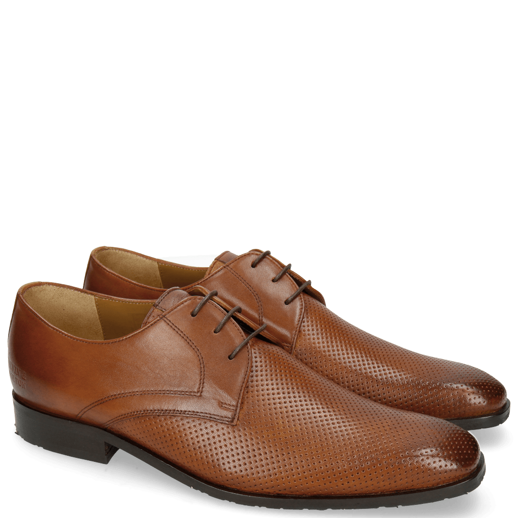 Derby shoes Xander 1 Rio Perfo Tan