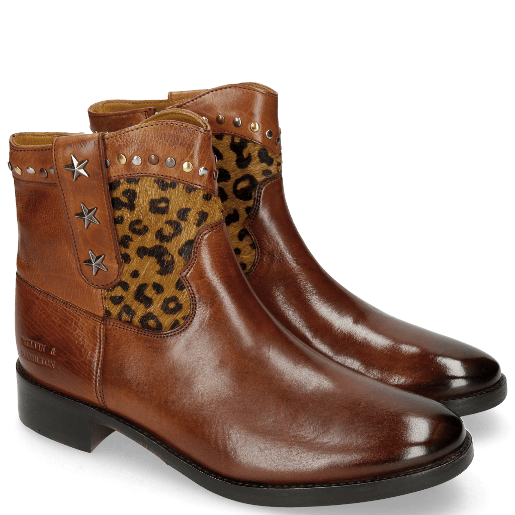 Ankle boots Jodie 10 Indus Wood Hairon Leo Cappu