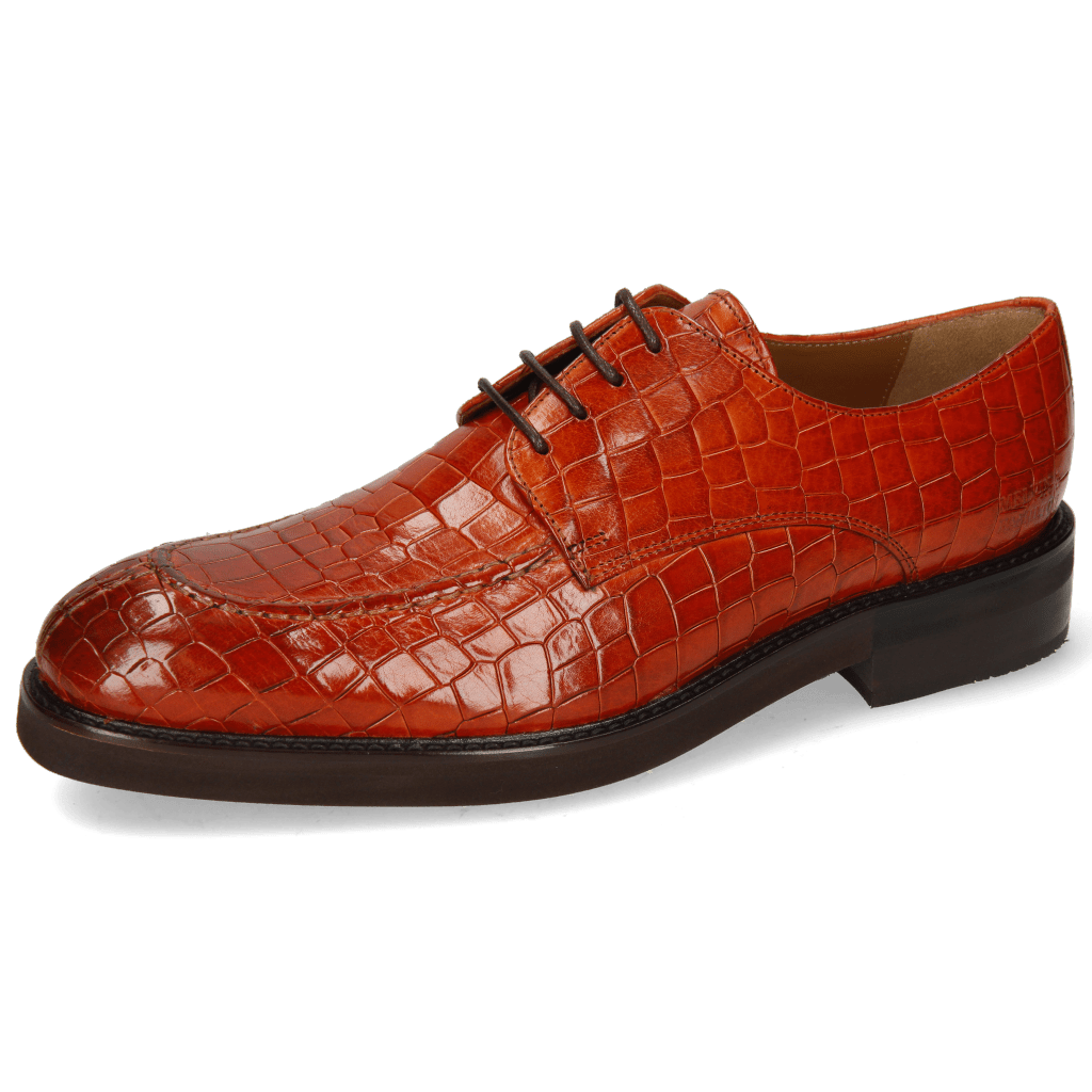 Derby shoes Parker 1 Crock Orange Genevra