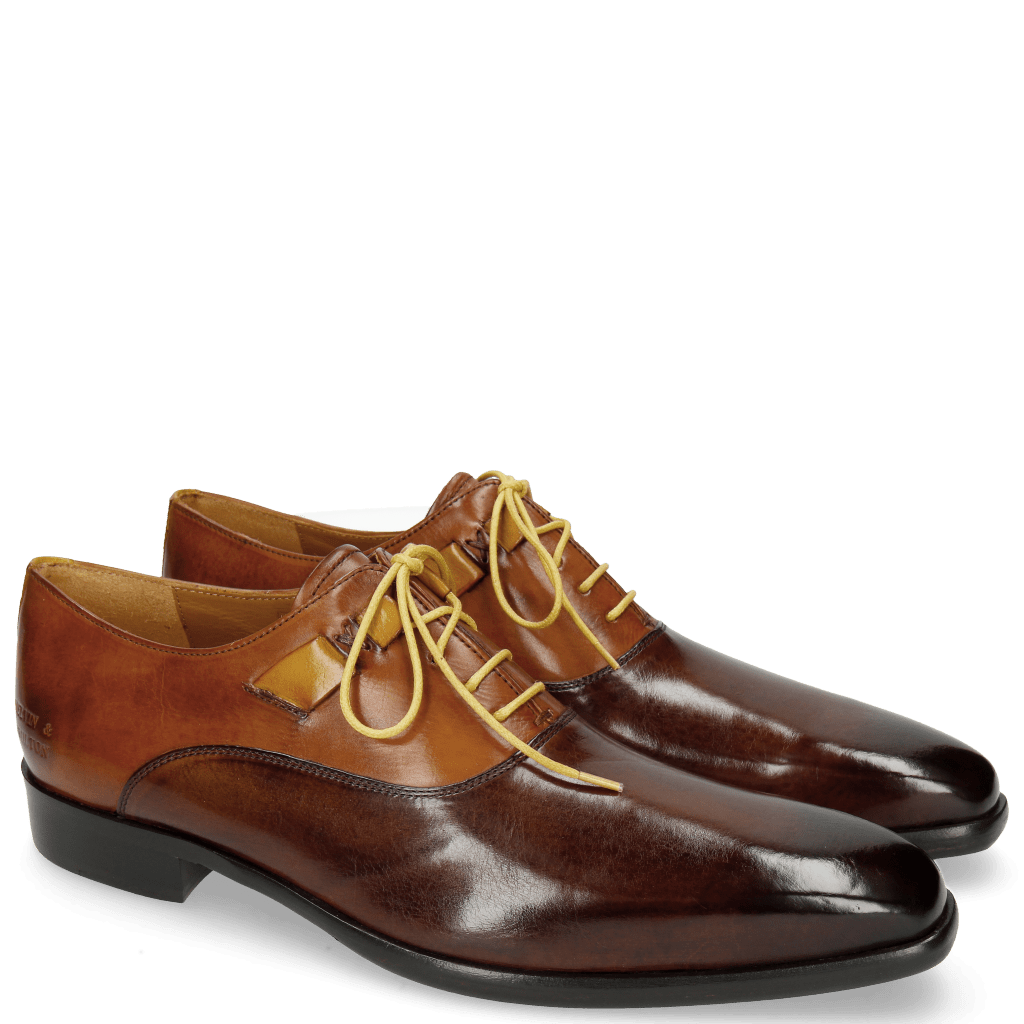Oxford shoes Lance 42 Mid Brown