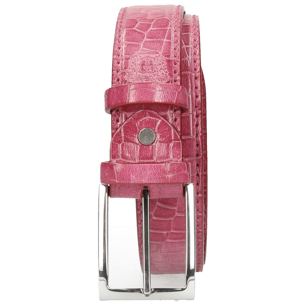 Belts Larry 1 Crock Fuxia Classic Buckle