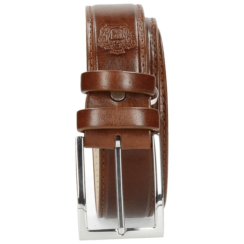 Belts Larry 1 Mid Brown Classic Buckle