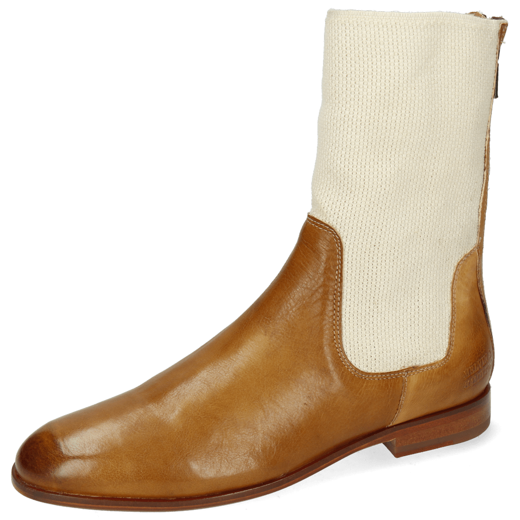 Ankle boots Susan 69 Imola Sand Stretch Off White