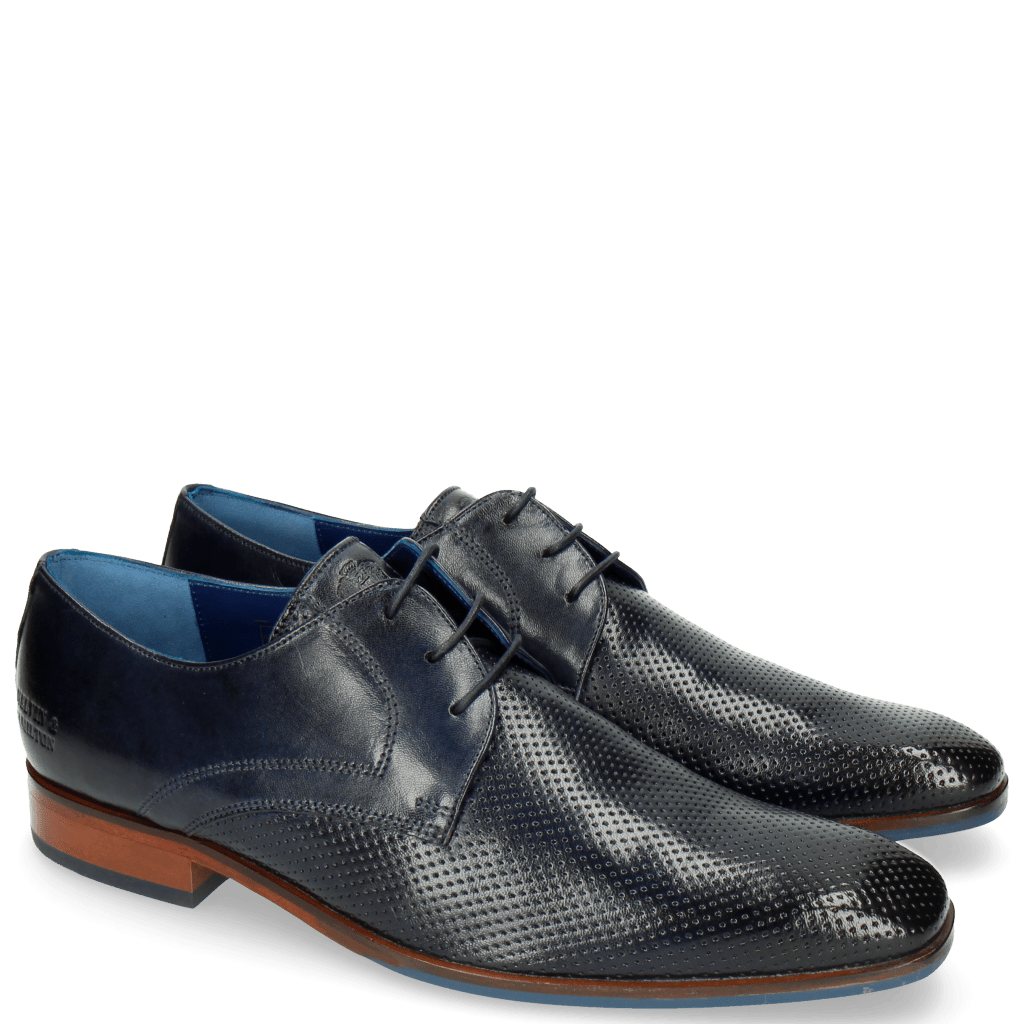 Derby shoes Rico 1 Rio Perfo Navy