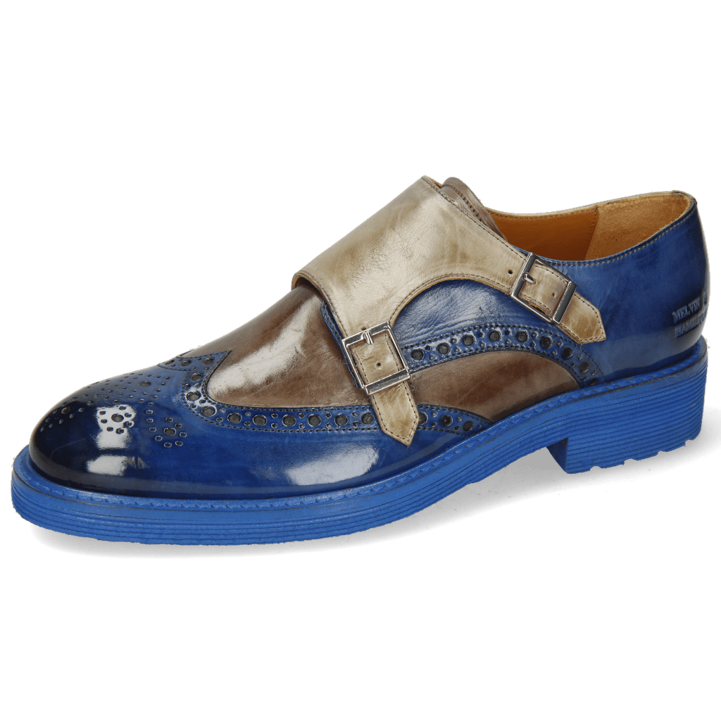 Monks Trevor 2  Electric Blue Stone