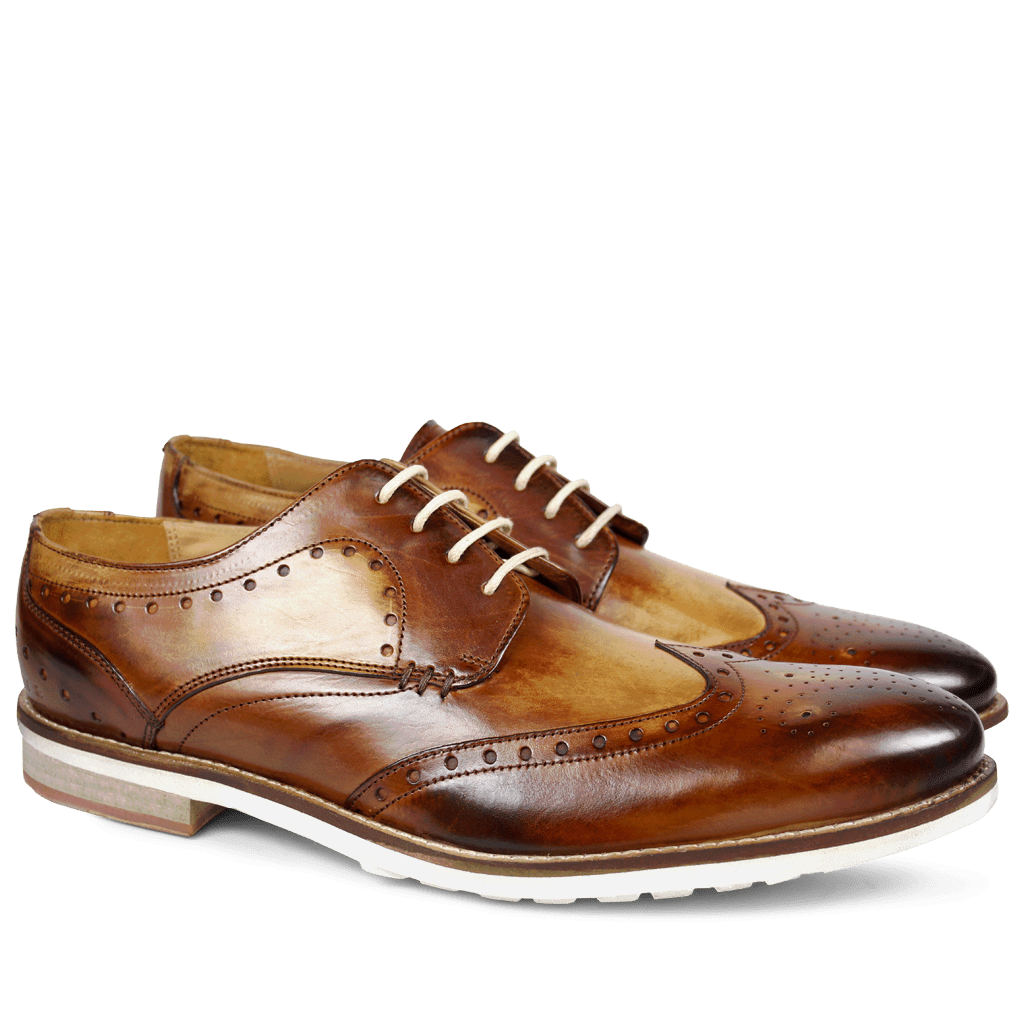 Derby shoes Scott 2 Crust Washed Tan WL
