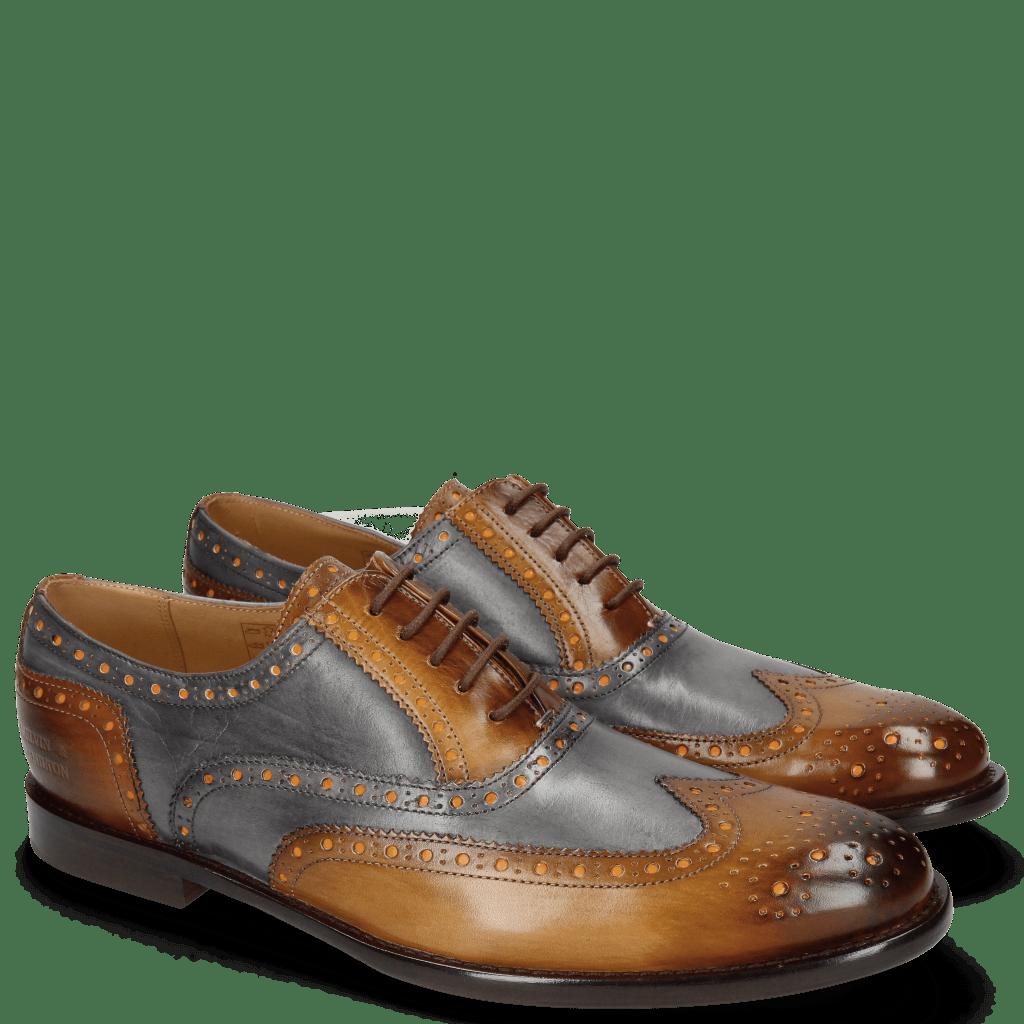 Oxford shoes Scott 12 Wood Vegas London Fog Washed