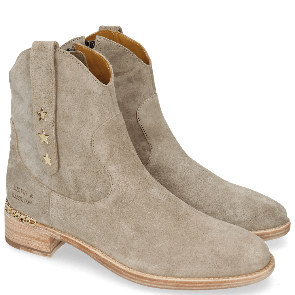 Ankle boots Lizzy 1 French Grey Star Gold