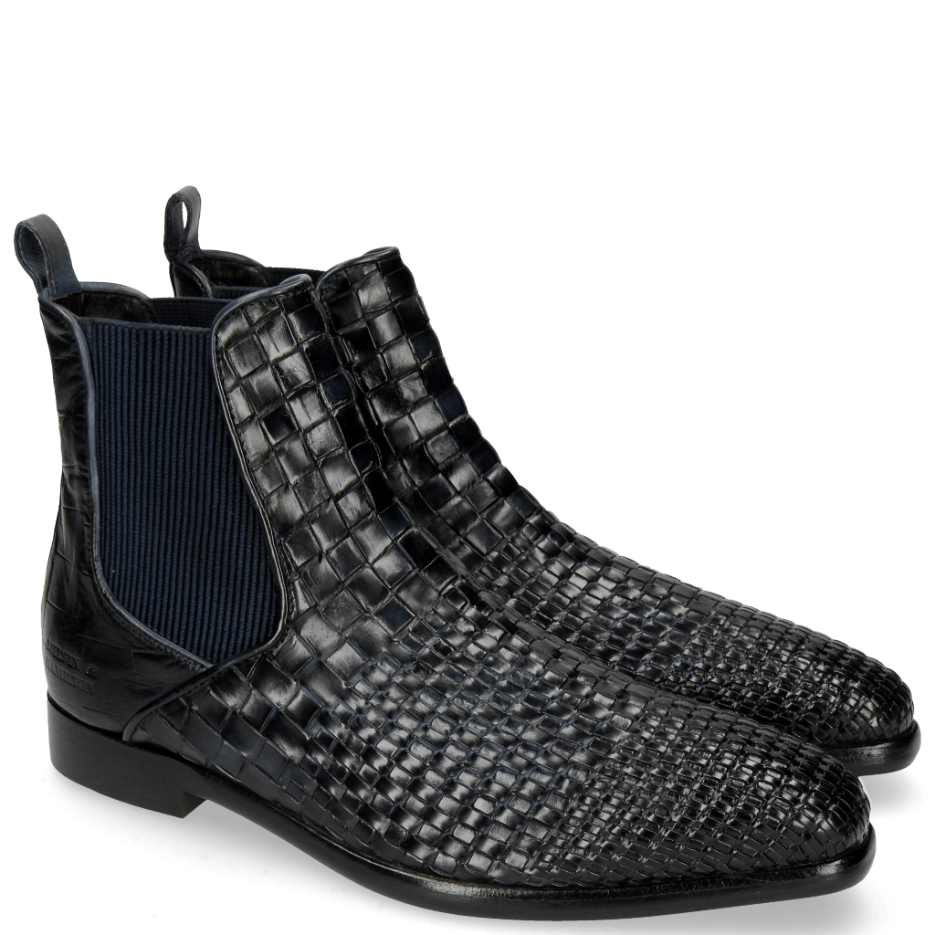 Ankle boots Luke 2 Interlaced Turtle Navy