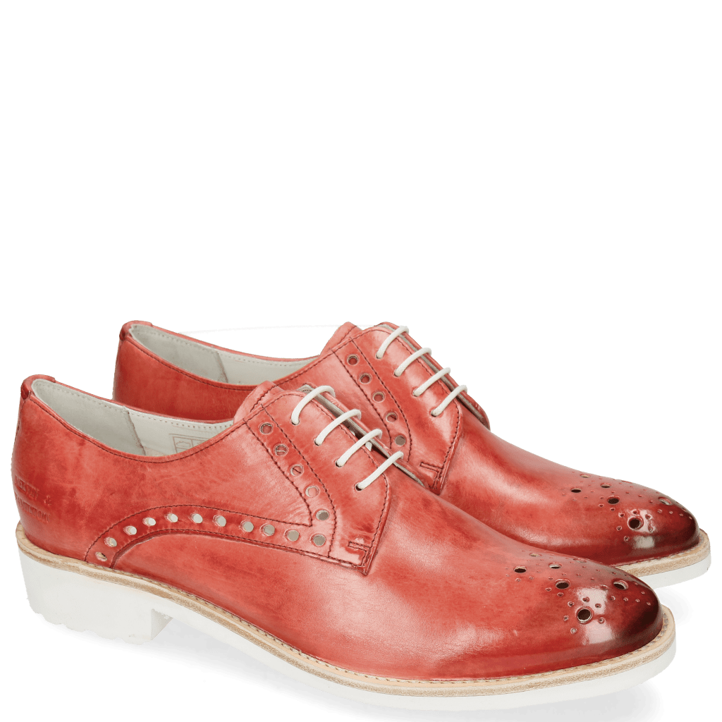 Derby shoes Amelie 7 Vegas Red