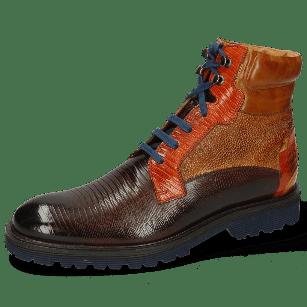Ankle boots Trevor 25 Guana Mid Brown Winter Orange
