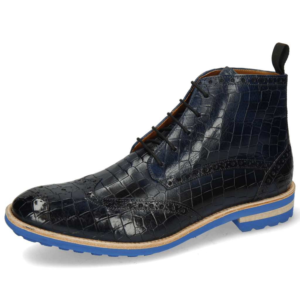 Ankle boots Eddy 10 Crock Navy Lining Rich Tan