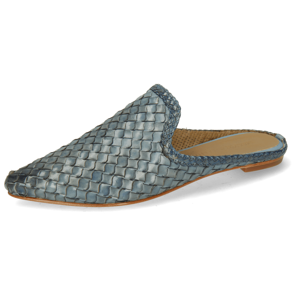 Mules Lydia 2 Woven Scale Wind Lining