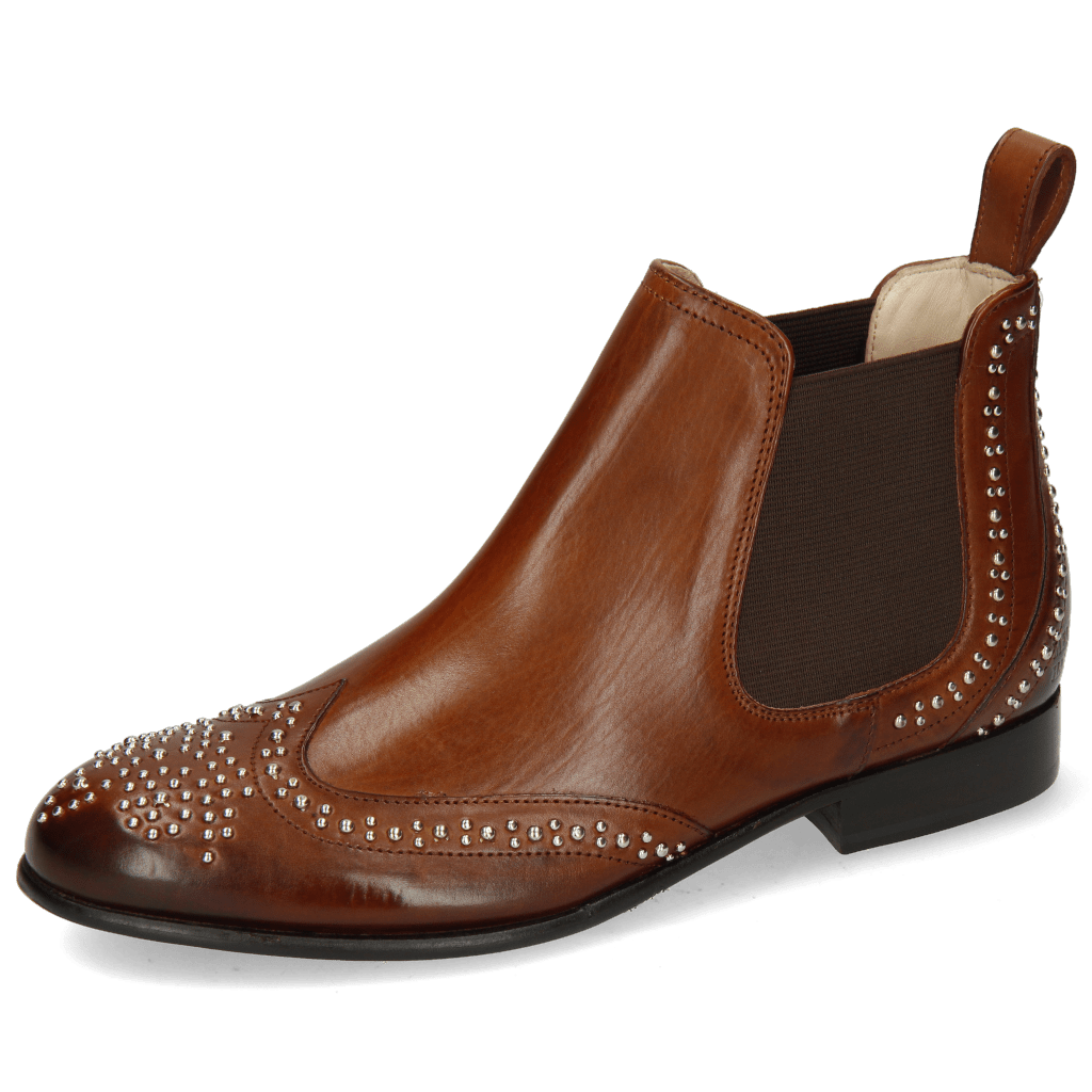 Ankle boots Sally 45 Mid Brown Rivets