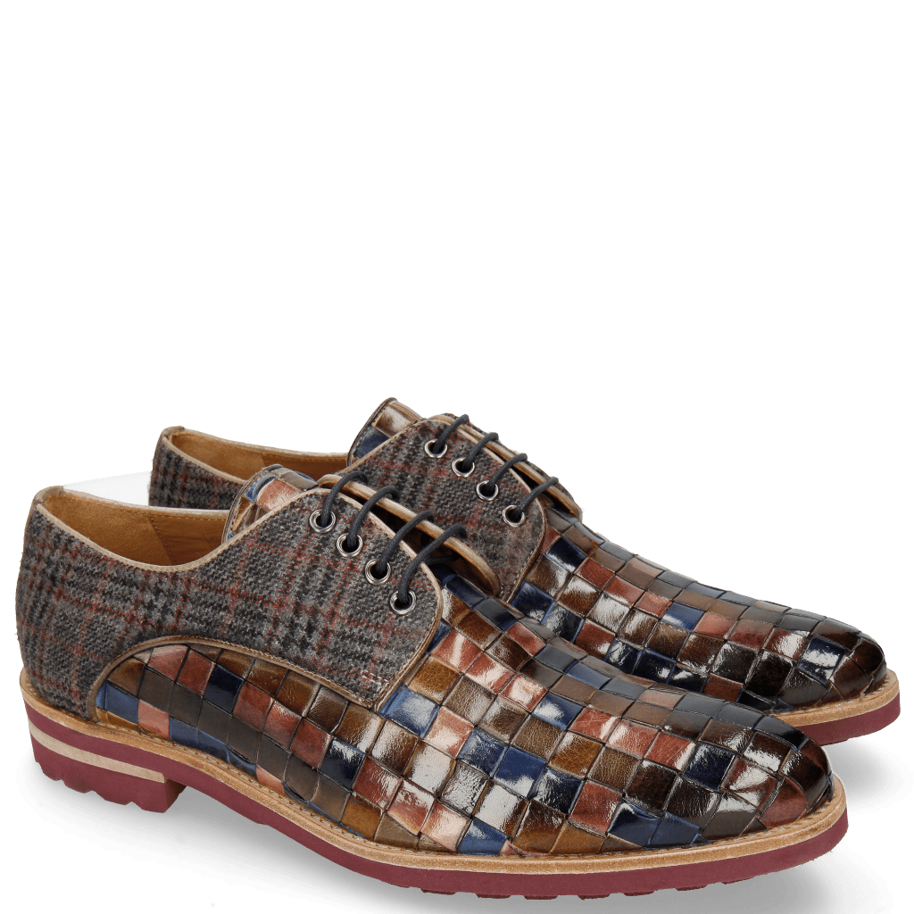 Derby shoes Brad 7 Classic Woven Multi Textile