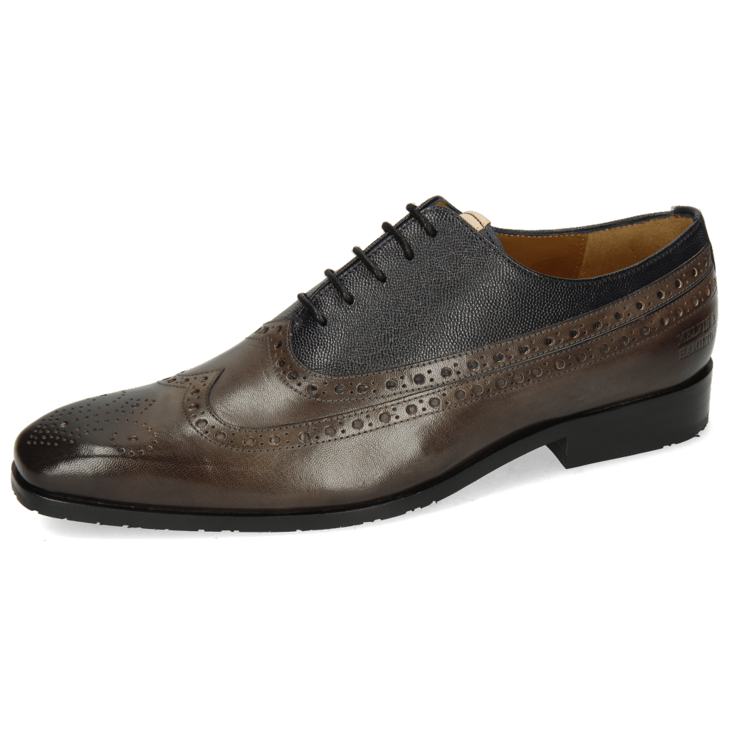 Oxford shoes Rico 39 Rio Deep Steel Little Scotch Navy
