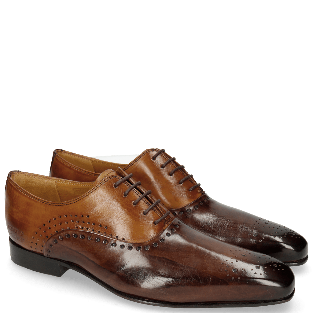 Oxford shoes Lewis 41 Mogano Tan LS Thin Brown