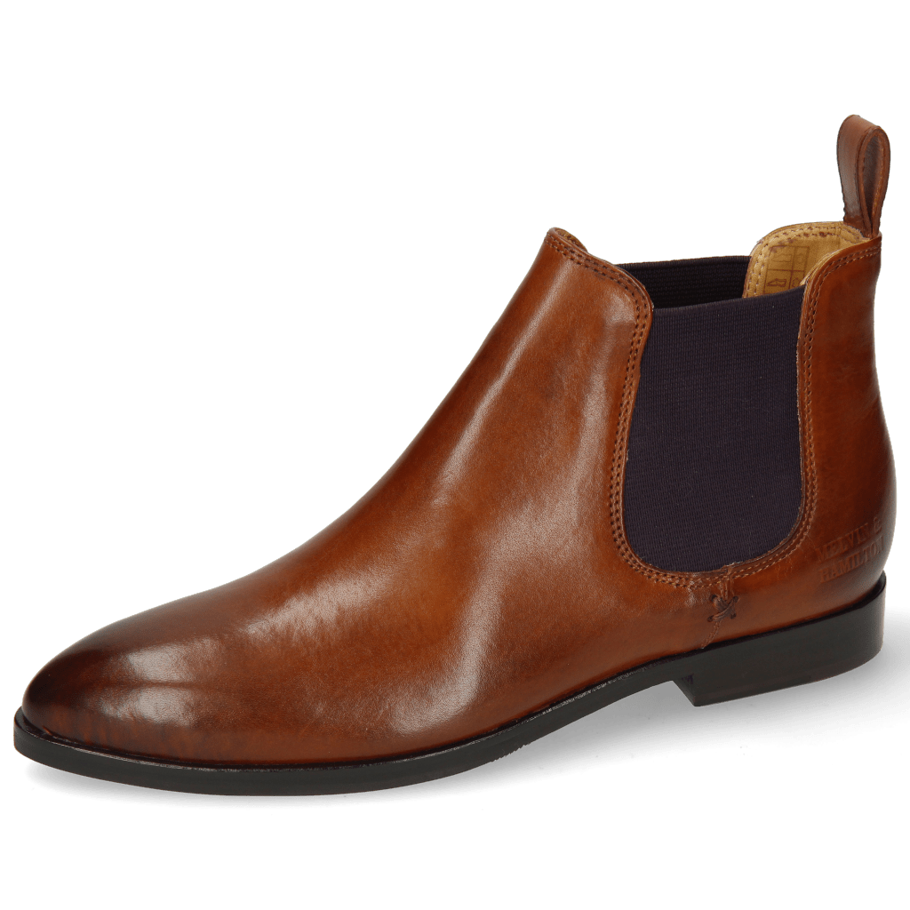 Ankle boots Jessy 1 Wood Elastic Purple Lining Nappa