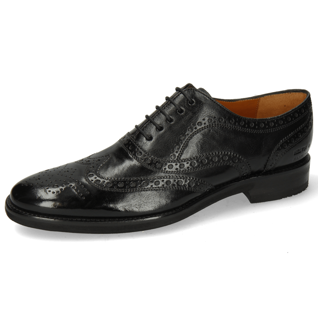 Oxford shoes Clint 23 Monza Black Lining