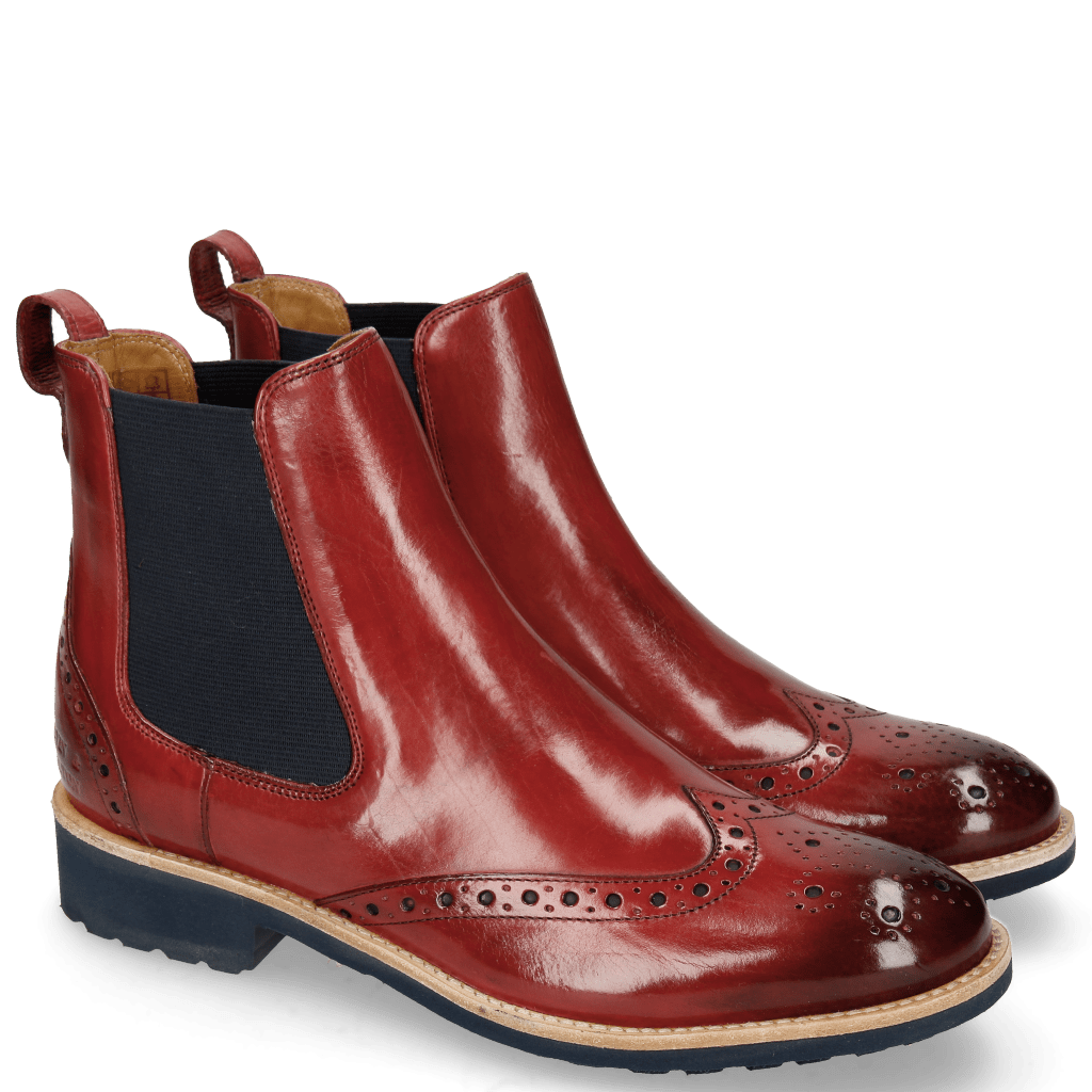 Ankle boots Amelie 5 Ruby Elastic Navy