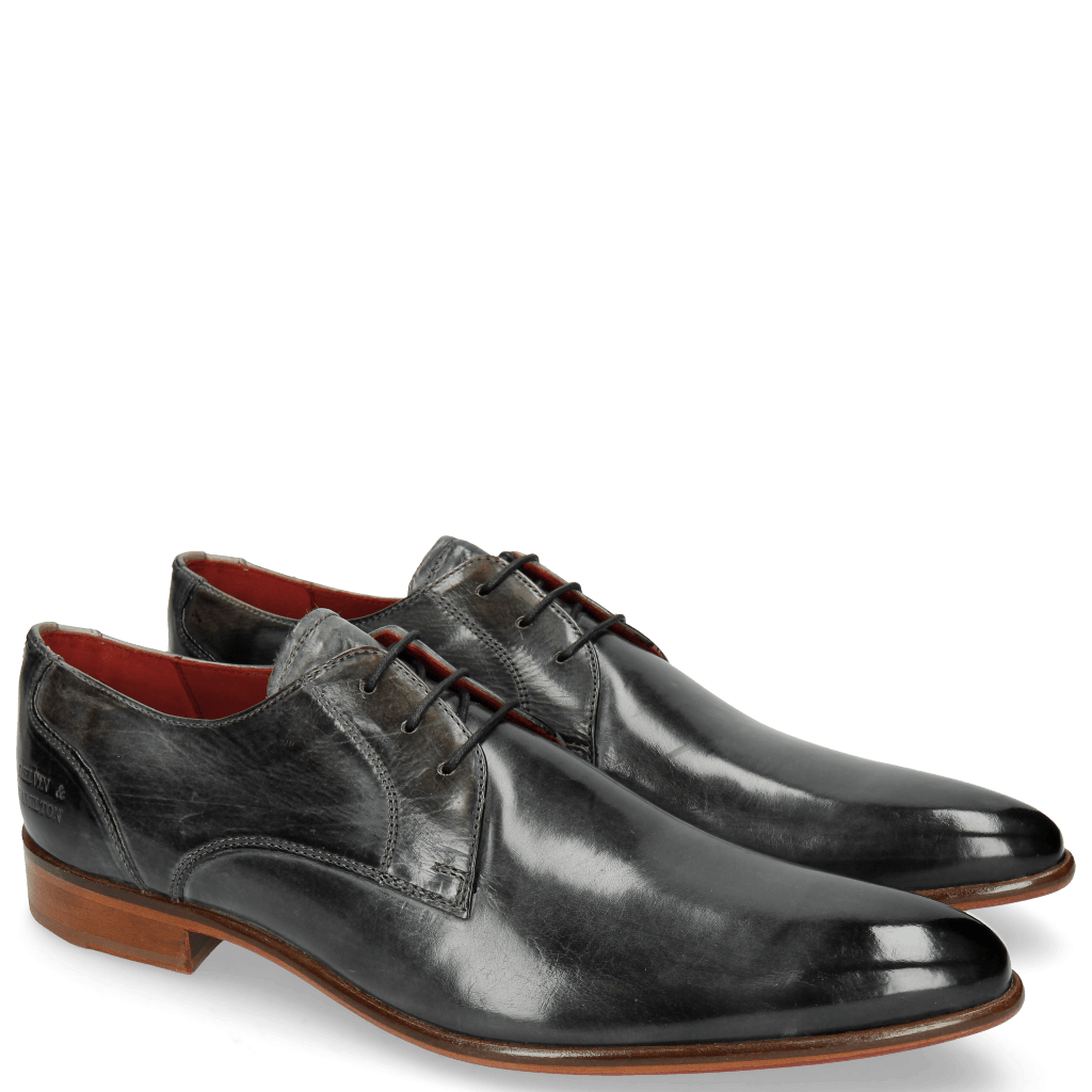Derby shoes Toni 1 Glicine Lining Red