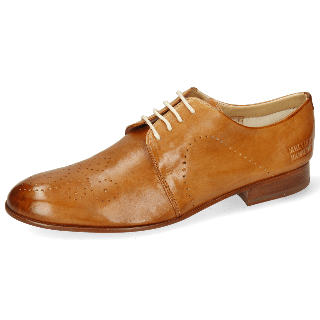 Derby shoes Sally 1 Imola Tan Lining