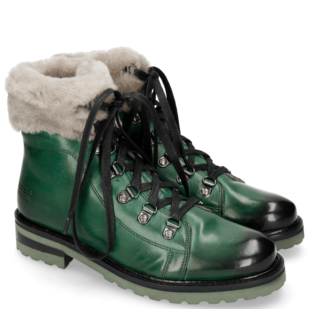 Ankle boots Bonnie 14 Pine Full Fur Lining Taupe