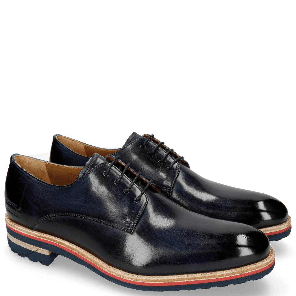 Derby shoes Tom 8 Navy