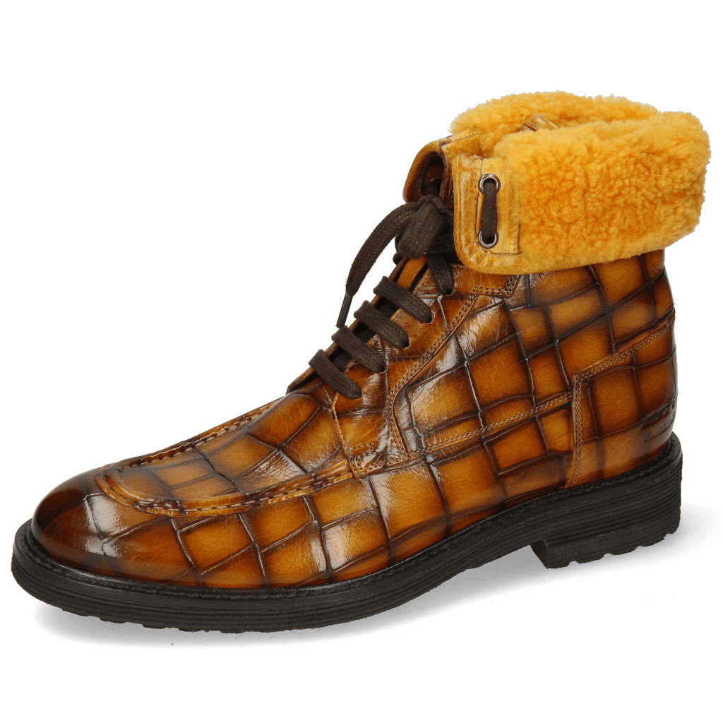 Ankle boots Trevor 31 Turtle Indy Yellow Shade Sherling