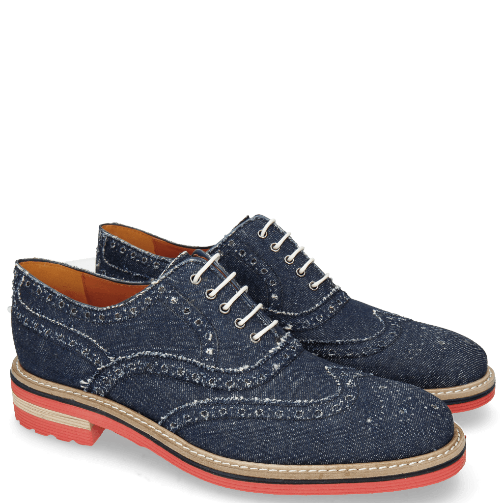 Oxford shoes Trevor 1 Denim Dark Blue