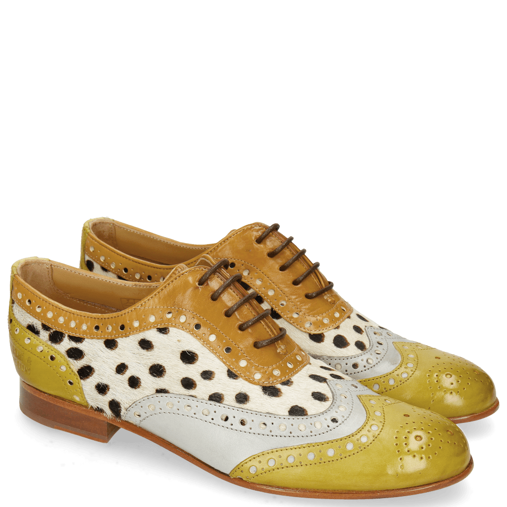 Oxford shoes Sally 97 Vegas Olivine Digital Sand Hairon Wildcat