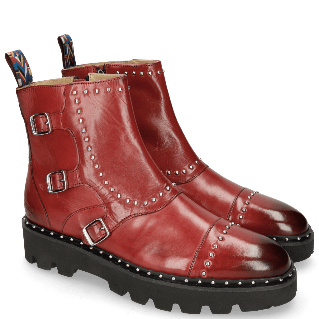 Ankle boots Susan 45 Ruby Rubber Sole Black