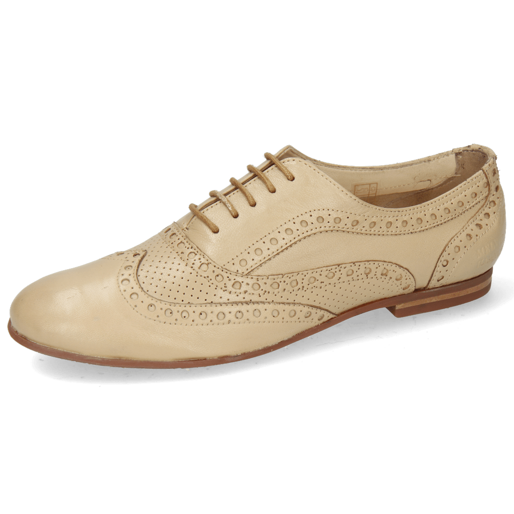 Oxford shoes Sonia 1 Nappa Perfo Beige