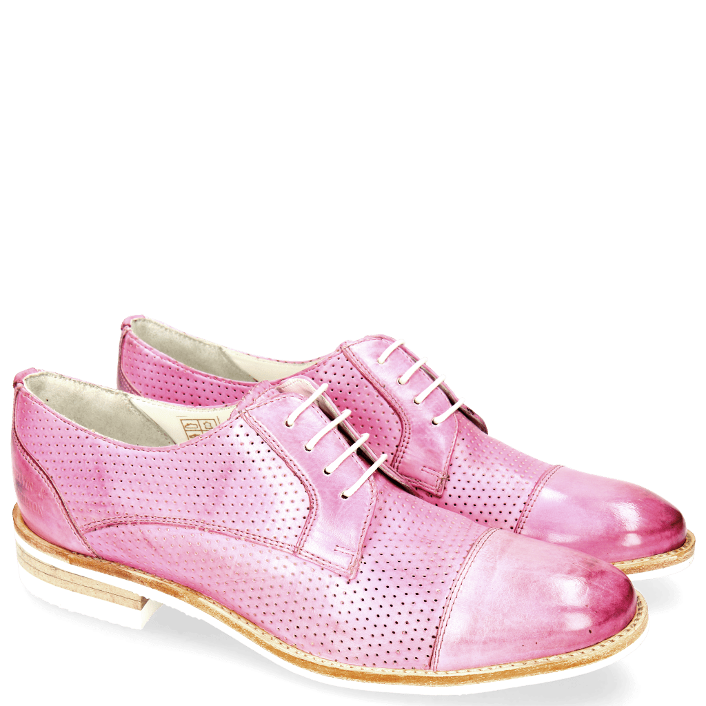 Derby shoes Amelie 2 Lilac Perfo Modica