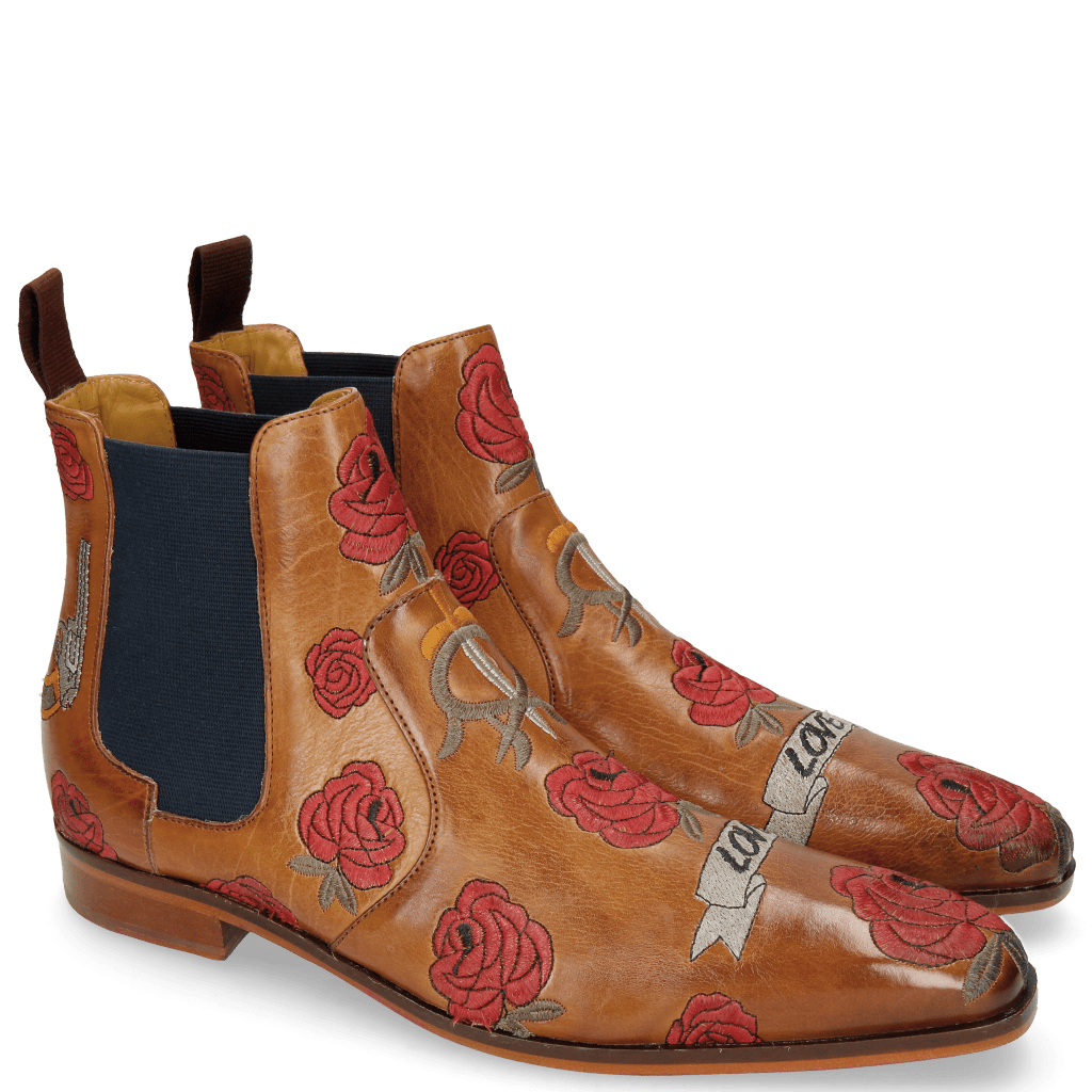 Ankle boots Jordan 2 Indus Tan Embroidery Bee