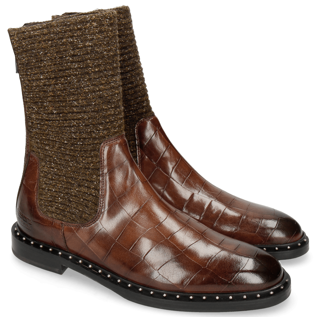 Ankle boots Susan 69 Turtle Dark Brown Brina Mokka