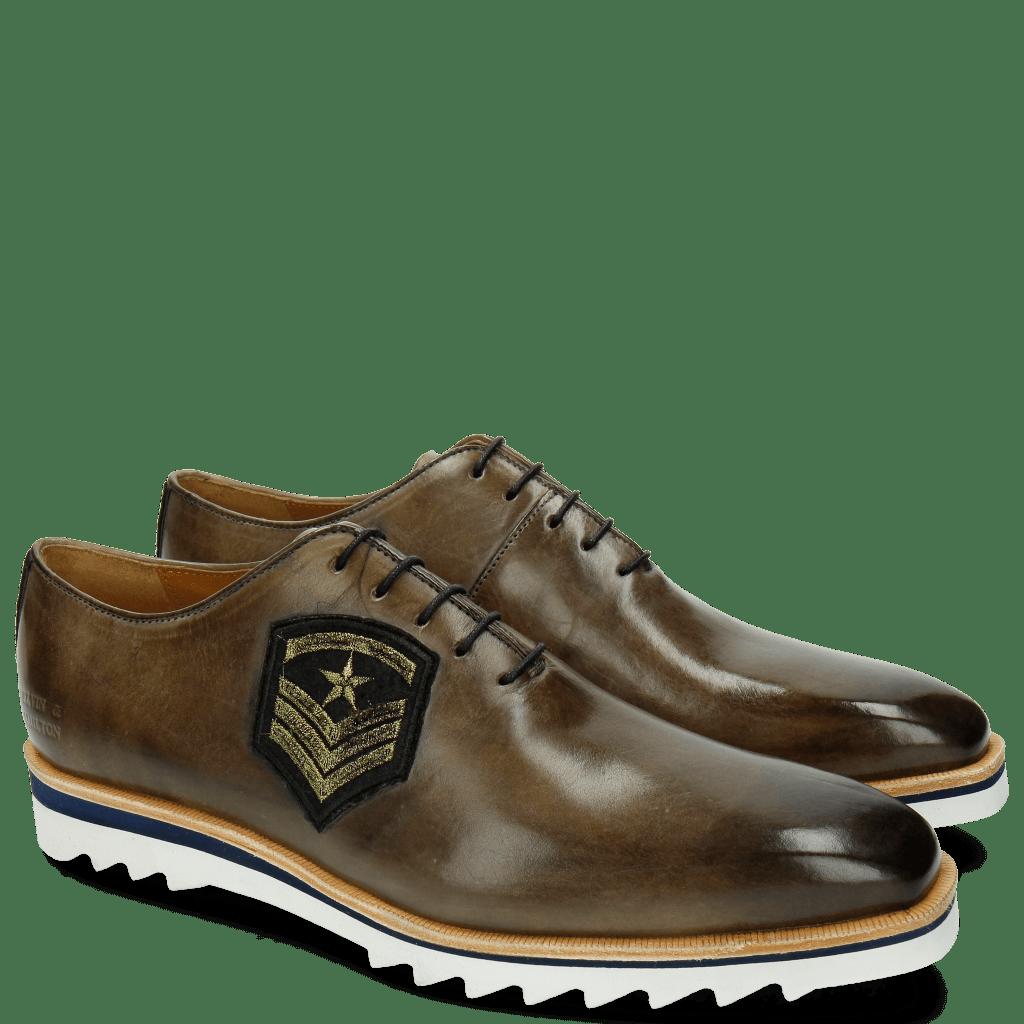 Oxford shoes Jeff 26 Smoke Patch Rank Star