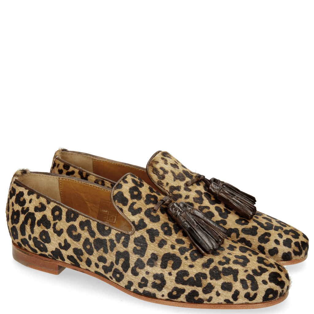 Loafers Scarlett 20 Hairon Leo Beige
