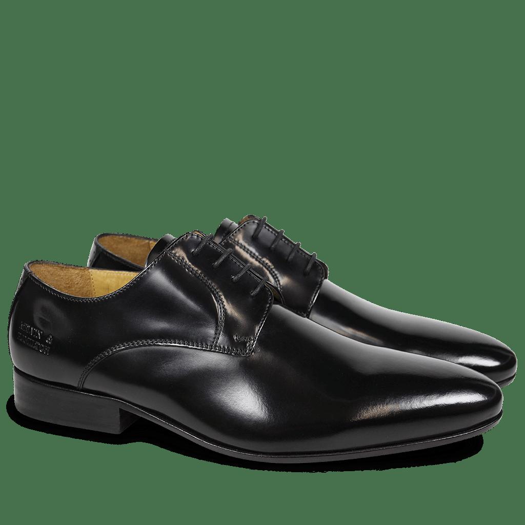 Derby shoes Paul 5 Brush Black LS
