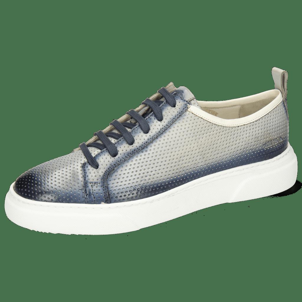 Sneakers Harvey 21 Vegas Perfo Oxygen Shade Navy