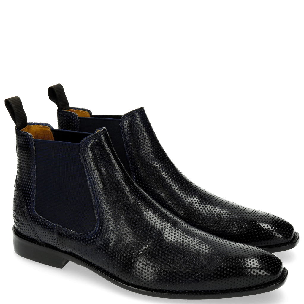 Ankle boots Xevar 1 Perfo Navy