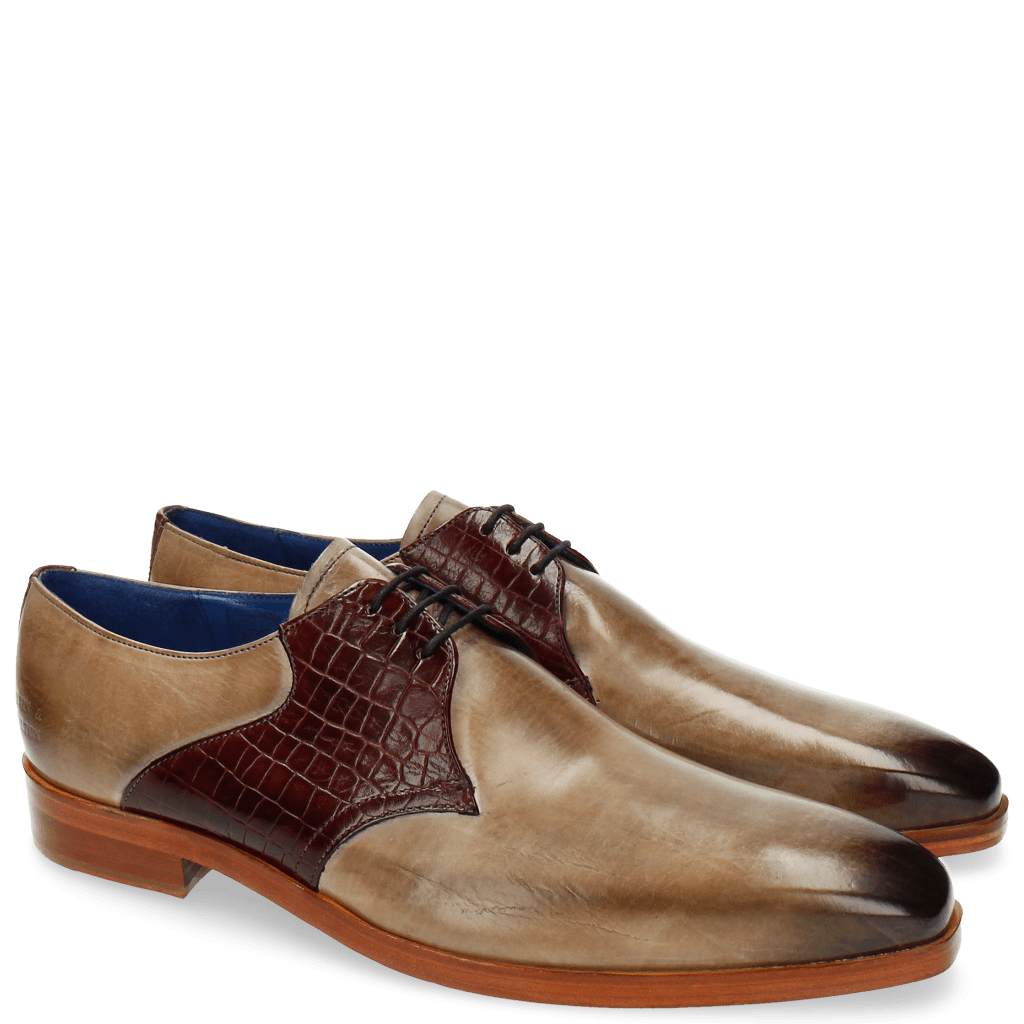 Derby shoes Lewis 29 Rocco Oxygen Burgundy LS