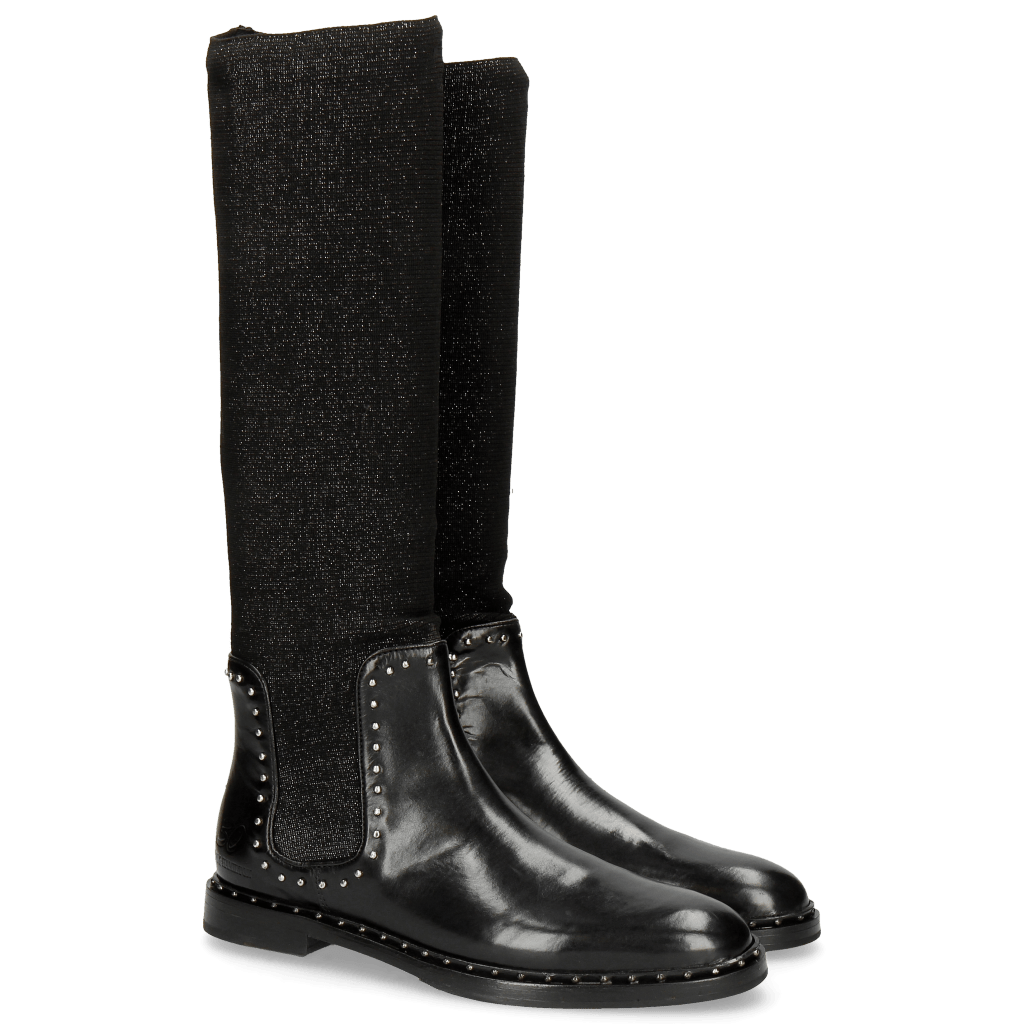 Boots Susan 52 Stafy Black Rivets