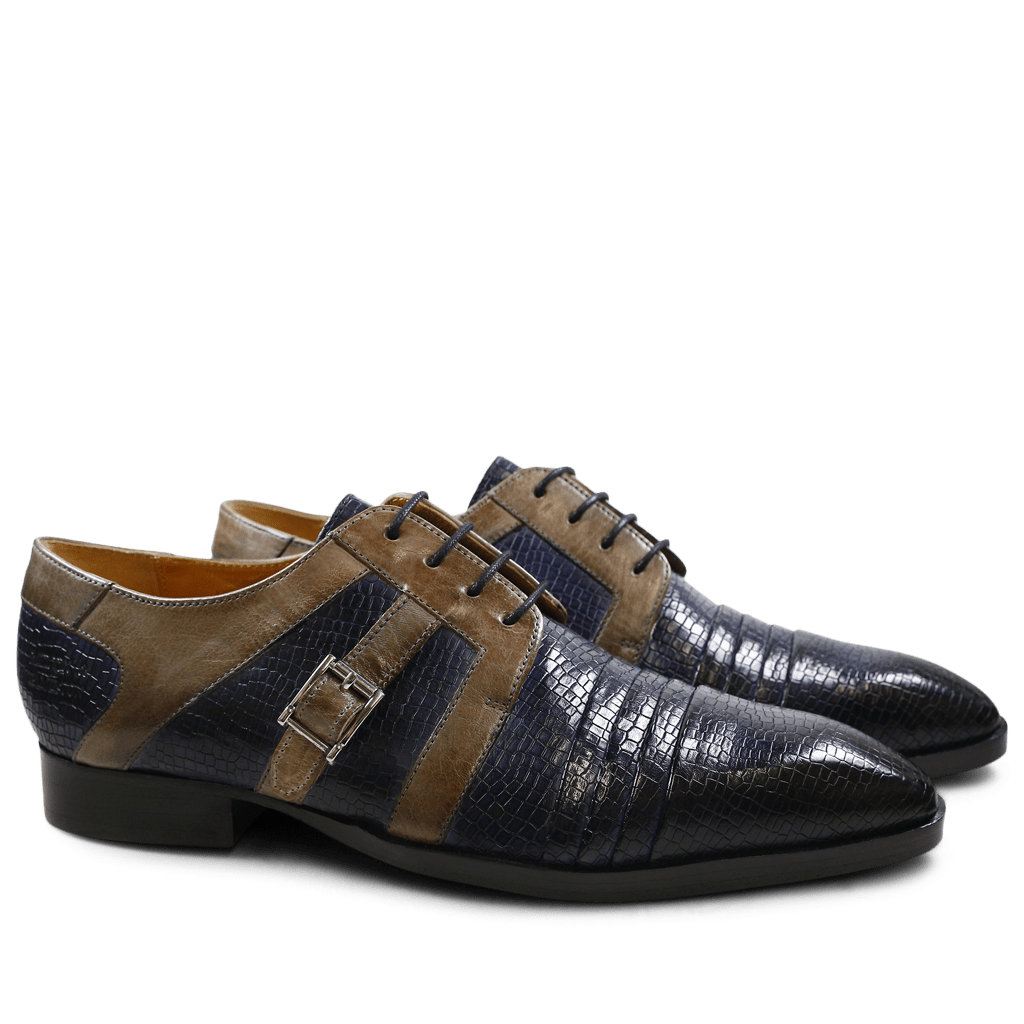 Derby shoes Ricky 2 Skink Navy Smoke LS