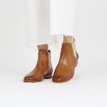 Ankle boots Selina 39 Pavia Perfo Tan