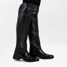 Boots Elaine 10 Guana Black Without Lasercut HRS