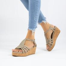 Sandals Hanna 55 Woven Ash Cork