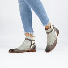 Ankle boots Amelie 11 Vegas Stone Oxygen White Smoke Strap Stone